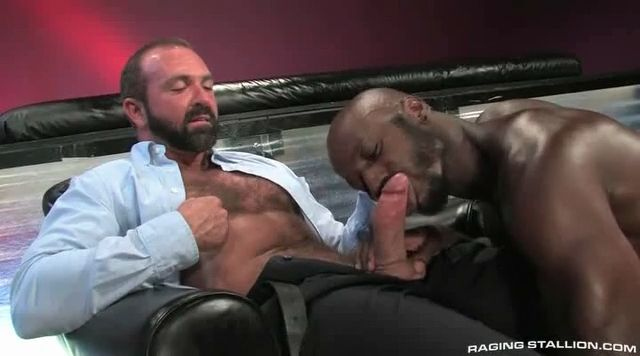 Mature and black guy