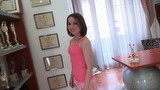 Young Russian sweetie Jalace is glad to visit Rocco Siffredi`s place.